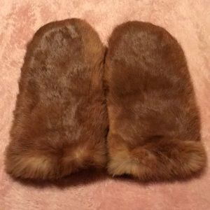 Other - Rabbit fur mittens